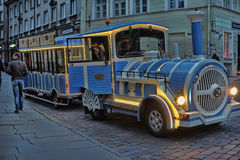 Excursion locomotive Tallinn Stock Image