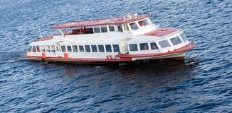 Excursion river BOAT royalty free stock photo