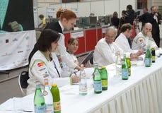 Excursion russe de d'Or de Bocuse - le jury image stock