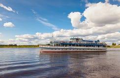 Excursion ship Royalty Free Stock Photo