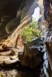 Excursion sur le terrain de Tsingy photo stock
