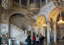 Excursion to the Hermitage in St. Petersburg, Russia Royalty Free Stock Photos