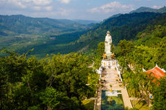 Excursion to the temple Wat Bang Riang Stock Photos