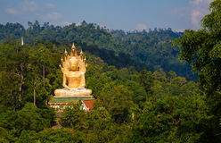 Excursion to the temple Wat Bang Riang Stock Photography