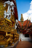 Excursion to the temple Wat Bang Riang Stock Photo