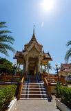 Excursion to the temple Wat Chalong Royalty Free Stock Photo