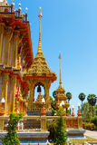 Excursion to the temple Wat Chalong Royalty Free Stock Photos