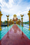 Excursion to the temple of Wat Plai Laem on the island Samui Royalty Free Stock Photos