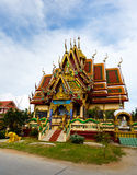 Excursion to the temple of Wat Plai Laem on the island Samui Stock Photography