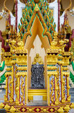 Excursion to the temple of Wat Plai Laem on the island Samui Stock Image