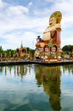 Excursion to the temple of Wat Plai Laem on the island Samui Stock Photos