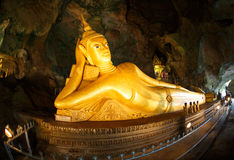 Excursion to the temple Wat Suwan Kuha Royalty Free Stock Photography