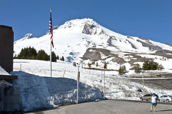 Excursion to Timberline lodge Oregon. Royalty Free Stock Photography