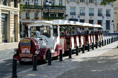 Excursion train in Bordeaux Stock Photography