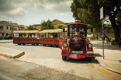 Excursion Train In Medina Stock Photo