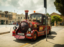 Excursion train in  Medina Stock Image