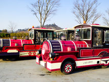 Excursion trains Stock Images