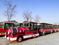 Excursion trains Royalty Free Stock Photo