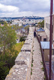 Excursion on Walls of Ancient City, Jerusalem Royalty Free Stock Photos