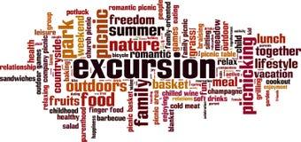 Excursion word cloud