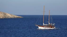 Excursions sailboat Stock Photos
