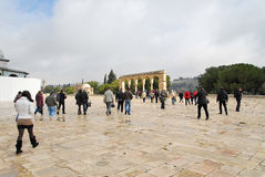 Excursions to the holy places of Jerusalem Stock Photos