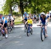Excursão 2008 do coração de Nova Escócia por Bicicleta Imagens de Stock