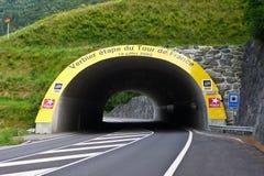 Excursão De France 2009, Verbier Fotos de Stock Royalty Free