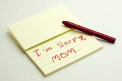 Excuses Image stock