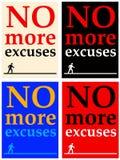 Excuses Photo stock