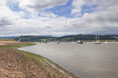 The Exe Estuary, Devon, England Royalty Free Stock Images