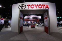 Exebition di Toyota Immagini Stock