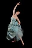 Execução da bailarina imagens de stock