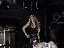 Execução de Mariah Carey Fotografia de Stock Royalty Free