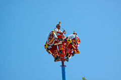Execução de Mayans do vôo. Fotografia de Stock Royalty Free