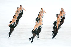 Execução de Team Boomerang Fotos de Stock Royalty Free
