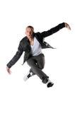 Execução do dançarino de Hip Hop imagens de stock royalty free