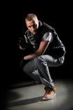 Execução do dançarino de Hip Hop imagem de stock royalty free