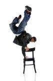 Execução do homem de Hip Hop fotos de stock