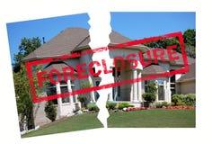 Execução duma hipoteca Foto de Stock Royalty Free