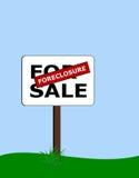 Execução duma hipoteca Imagens de Stock Royalty Free
