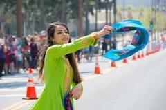 Execução persa do dançarino Imagem de Stock Royalty Free
