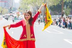 Execução persa do dançarino Fotos de Stock