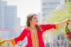 Execução persa do dançarino Imagens de Stock Royalty Free