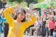 Execução persa do dançarino Imagem de Stock