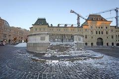 Execusions-Platz auf Rotem Platz, Moskau lizenzfreies stockfoto