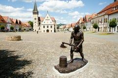 Executioner άγαλμα - Bardejov - Σλοβακία Στοκ εικόνες με δικαίωμα ελεύθερης χρήσης