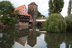 Executioner's house in Nuremberg Royalty Free Stock Photos