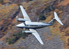 Executive aircraft King Air Royalty Free Stock Photography