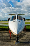 Executive airplane Royalty Free Stock Photo